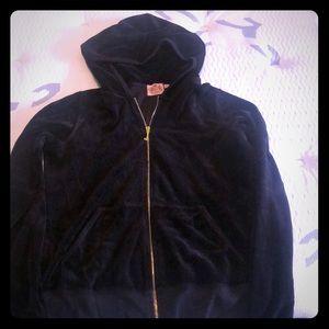 Black Juicy zip up